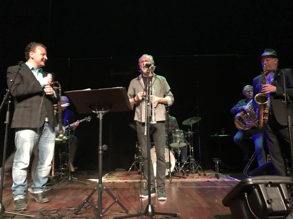 Etter middagen ble det gladjazz med Bech & Skeidsvoll New Orleans Band.