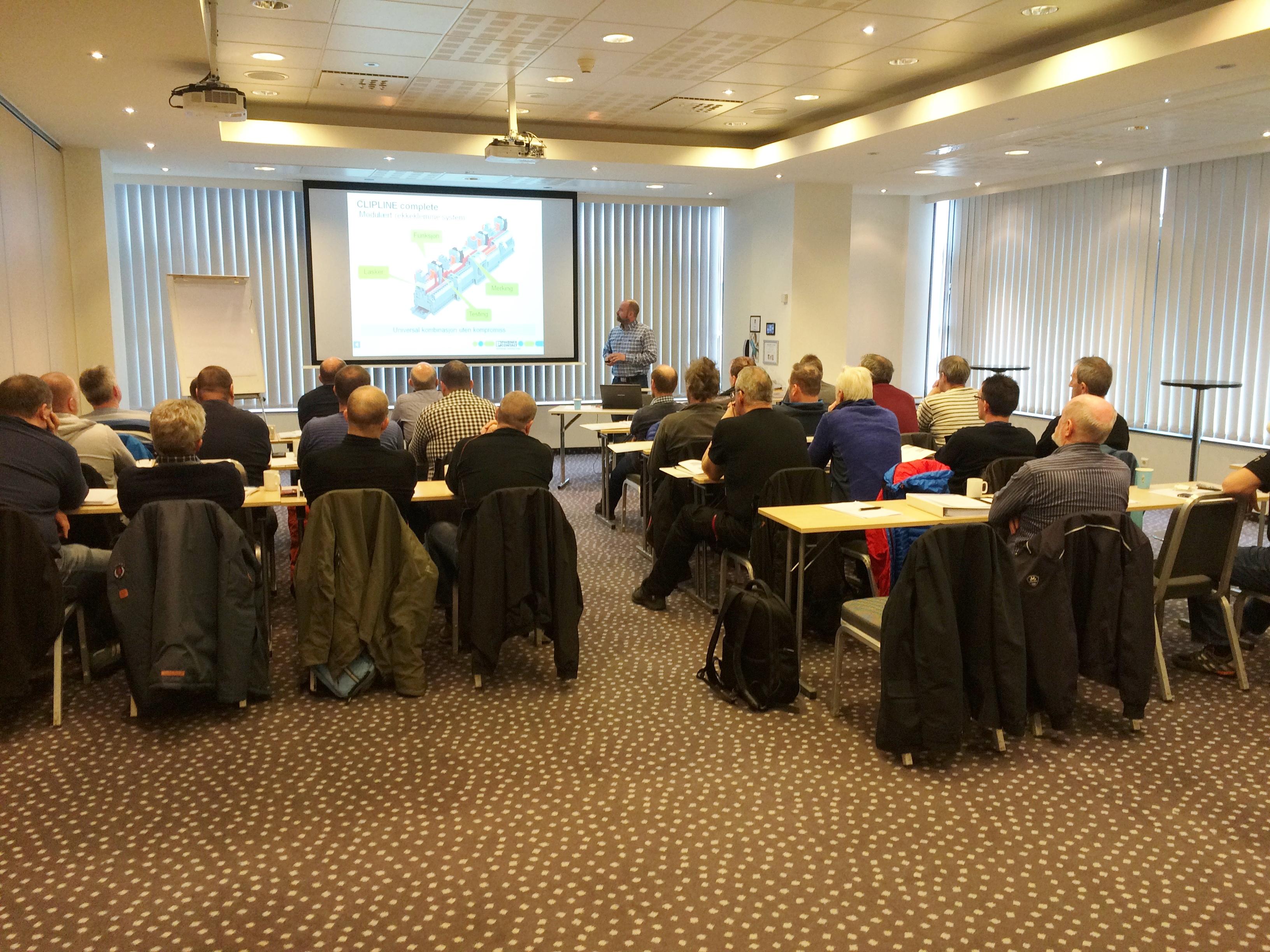 Kurset hadde til sammen 27 deltakere fra 13 medlemmer, og ble arrangert i samarbeid med Norsk Vann.