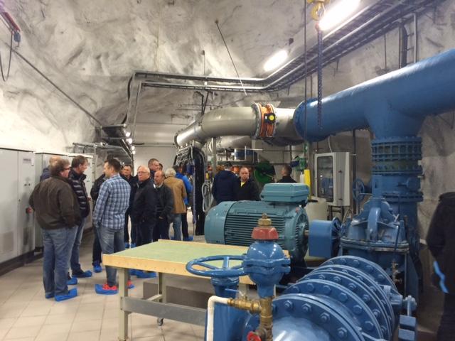 Ørnvika pumpestasjon er et fjellanlegg, og inneholder UV-anlegg i tillegg til 3 pumper med en samlet kapasitet på 330 l/s