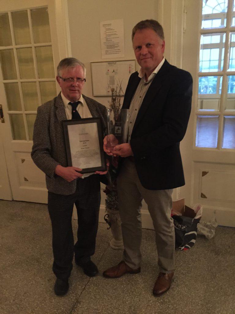 Svein Thorsø - Vinner av Vannprisen 2015